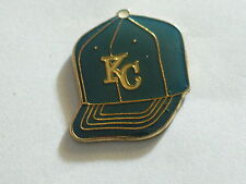 Kansas City Royals Baseball Cap Lapel Pin,  Vintage Enamel Pin(**)