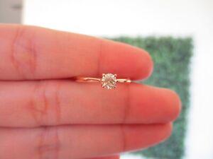 ".31 Carat Diamond Engagement Ring 18k Rose Gold ER420 sep ""SP"" (PRE-ORDER)"