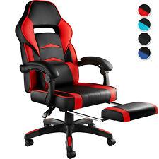 Chaise de Bureau Ergonomique Fauteuil Gaming Dossier Réglable avec Repose-Pieds