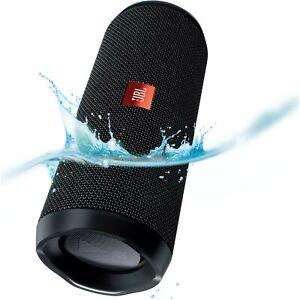 JBL Flip 4 Bluetooth Portable Speaker 2x8 watts RMS - black