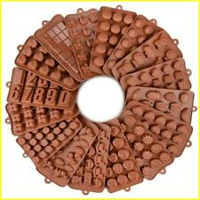 SILIKOLOVE 29 Hot Styles Silicone Chocolate Molds Reusable Silicone Pastry Molds