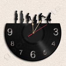 Silly Walk Wall Clock Vinyl Record Clock