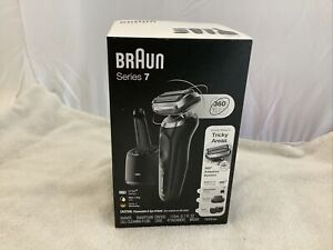 Braun Series 7 Electric Razor Shaver Wet Dry 360 Adaptative Hair Trimmer 7075cc