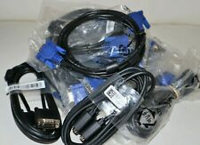 Lot (13)Vga Svga 15 Pin Male to Male M/M Monitor Cables Lead for Pc Tv Laptop