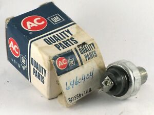 1957-1983 Cadillac Buick NOS oil pressure sender switch 6460404