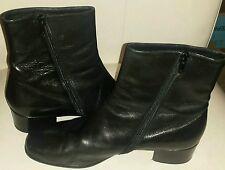 Cole Haan Women's Black Side Zip Ankle Boots/Booties Size 9 B