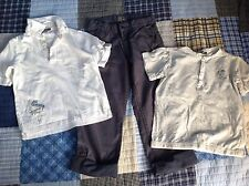 SERGENT MAJOR Boys Tee Pants Set Outfit Size 7-8 122cm FRANCE