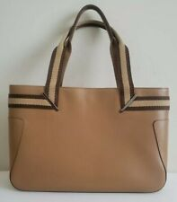 Gucci light brown Leather Tote, Medium,  Made In Italy