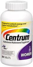 Centrum Ultra Women's Tablets 200 ea (Pack of 2)