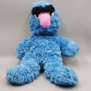 Vintage Herry Monster Stuffed Animal Plush Knickerbocker Sesame Street 20 inch