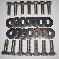 Morris Minor Front Wing Fitting Kit - BSF Bolts - Stainless