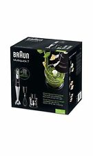 New Braun Multiquick7  Electronic Food Mixer Hand Blender Stainless 220V