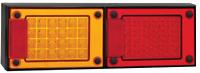 PAIR LED COMBO LIGHTS - TRUCK TRAILER SEMI FLOAT UTE J2BARM