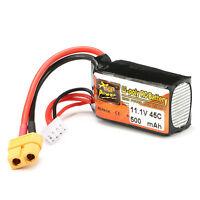 ZOP Power 11.1V 7.4V 14.8V 22.2V 500-5000mAh 65C 60C Lipo Battery Batteria JST