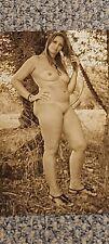 Erotisches Foto , Vintage, junge Frau, 10x15 cm, sepia, sehr guter Top-Zustand