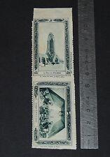 CINDERELLA 1932 VIGNETTE TIMBRE GUERRE 14-18 DOUAUMONT CRYPTE N-D DE LORETTE