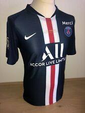 Neymar JR PSG Match Un Worn shirt Merci Final maillot jersey maglia Brasil issue