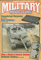 MILITARY MODELLING Magazine May 1984 - Challenger, General Jackson