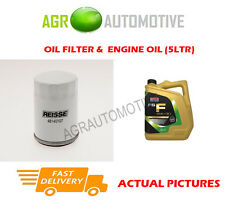 PETROL OIL FILTER + FS F 5W30 OIL FOR FORD TOURNEO COURIER 1.0 101 BHP 2014-