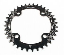 Mtb Narrow Wide Oval Single Chainring Chain Ring Bcd 104mm 30 32 34 36 38 40 42T