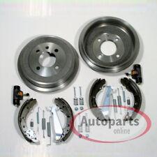 Bremstrommel Bremsen Set ABS Ringe Radlager Zubehör für hinten Renault Twingo
