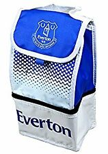Everton FC Football Team Insulated Fade 2 Compartment Lunch Bag