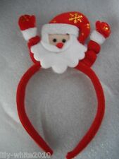 Christmas Hair Band Father Christmas Head band Alice Band Santa REDUCED TO CLEAR