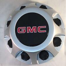 GMC Sierra 3500 1-ton Dually Rear OEM Center Cap SILVER