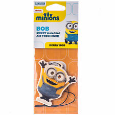 Despicable Me Minions Berry Bob Fragrance Car Air Freshener Licensed x1