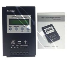 New 20A MPPT Solar Charge Controller 12V/24V Solar Regulator with LCD Display