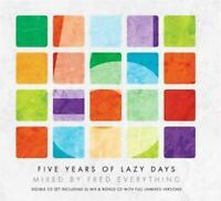FIVE YEARS OF LAZY DAYS Mixed By FRED EVERYTHING 2CDs (New & Sealed) House 5