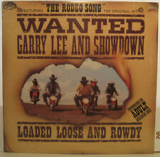 Garry Lee & Showdown Loaded, Loose and Rowdy w/ REDD VOLKAERT -SEALED Rodeo song