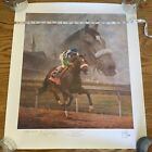 Fred Stone / A Legacy of Hope - Barbaro / 339/1200 Double Signed Edgar Prado