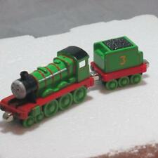 Lot 2 Thomas the Train Track Die cast cars magnetic Henry & Tender Gold Dust