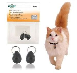 PETSAFE MAGNETIC COLLAR KEY MAGNET AND COLLAR  AND ID TAGS