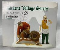 Dept 56 4021980 Dickens STOCKING UP Accessory Heritage Village Collection