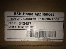 bosch refridgerator control unit 643487