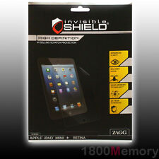 ZAGG Invisible Shield High Definition Screen Protector Apple iPad Mini / 2 3 Ret