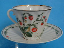 LOT of 5 pcs LOMONOSOV USSR FLORAL GOLD TEA CUP SAUCER *MINT * ALL FOR ONE PRICE