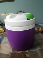 Igloo Elite 1/2 gallon water jug Vintage Purple Turquoise
