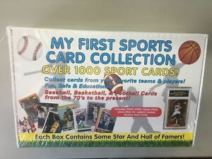 My First Sports Card Collection 1,000+  cards including a 2003/04 Lebron James