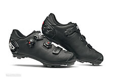 NEW 2020 Sidi DRAGON 5 MEGA Wide MTB Mountain Bike Shoes : MATTE BLACK