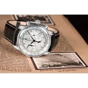Zeppelin 100 Years Alarm Chronograph 7680-1 Watch
