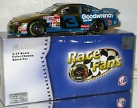 1999 DALE EARNHARDT #3 WRANGLER COLOR CHROME RFO 1/24 CAR XRARE AWESOME LOOKING