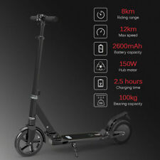 Electric Scooter Adult Road Legal Folding Foldable Kids Bike E-Scooter Ride ON