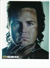 JOSH MCDERMITT AUTHENTIC SIGNED AUTOGRAPH MONTREAL COMICCON 2015 WALKING DEAD