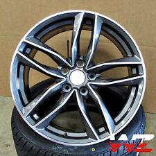 20 inch 1196 Style Wheels Gunmetal Machined  Fits Audi A4 A5 A6 A7 TT VW Rims