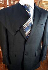 Jos A Bank Men Suit Sz: 40S Pants 35W x 28.5 Navy Fineline Signature Collection