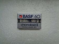 Vintage Audio Cassette BASF Chromdioxid II 60 * Rare From Germany 1982 *