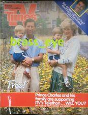 TV Times Prince Charles Princess Diana Tom Selleck Lassiter